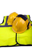Safety apparel Royalty Free Stock Photos