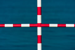 Safety barrier - cross Stock Photography