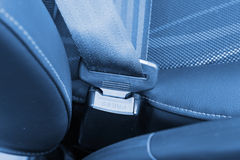 Safety belt lock catch Stock Images