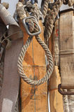 Safety belt and rope Royalty Free Stock Photos