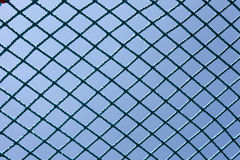 Safety blue net Royalty Free Stock Photo