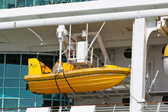 Safety boat Royalty Free Stock Photography