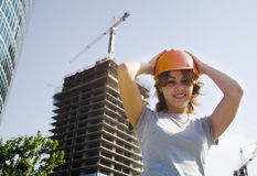Safety builder stock photography