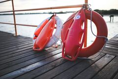 Safety buoy Royalty Free Stock Images