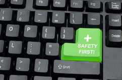 Safety campaign Royalty Free Stock Photography