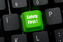 Safety campaign Royalty Free Stock Image