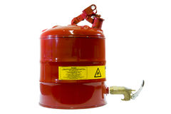 Safety canister Royalty Free Stock Photos
