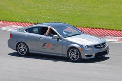 Safety Car in 2012 F1 Canadian Grand Prix Stock Image