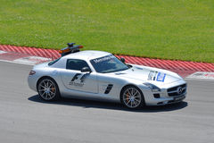 Safety Car in 2012 F1 Canadian Grand Prix Royalty Free Stock Photos