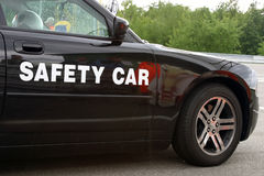 Safety car. Circuit racing safety car Royalty Free Stock Photography