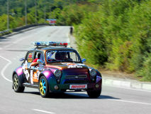 Safety Car on IRC PRIME Yalta Rally 2012 Stock Image