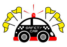 Safety car message Royalty Free Stock Photography