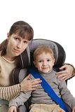Safety car seat Royalty Free Stock Photo