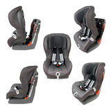 Safety Car Seat Collection Royalty Free Stock Image