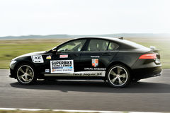 Safety car on track Royalty Free Stock Photography