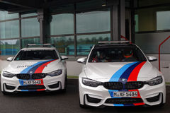 Safety cars Stock Image