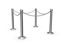 Safety chain, barrier Stock Photography