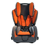 Safety child car seat Stock Images