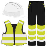 Safety clothing Royalty Free Stock Image