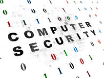 Safety concept: Computer Security on Digital Royalty Free Stock Images