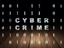 Safety concept: Cyber Crime in grunge dark room Stock Photo