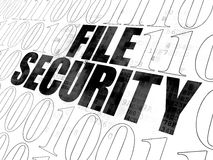 Safety concept: File Security on Digital Stock Photography