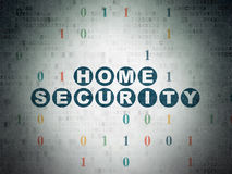 Safety concept: Home Security on Digital Paper Royalty Free Stock Photo