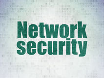 Safety concept: Network Security on Digital Paper Stock Photo