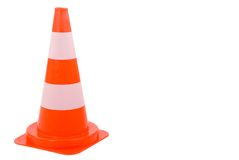 Safety Cone. Royalty Free Stock Images