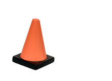 Safety Cone. Mini Plastic Foam Safety Cones Royalty Free Stock Photo