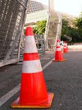 Safety cones Stock Images