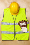 Safety construction Royalty Free Stock Photos