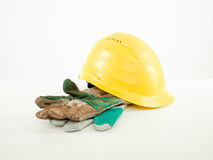 Safety construction equipment Royalty Free Stock Images