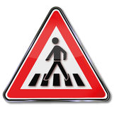 Safety crosswalk Stock Image