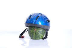 Safety when cycling Stock Photography