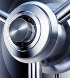 Safety. 3D illustration of a bank vault Stock Photography