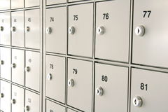 Free Safety Deposit Boxes Stock Photo - 6269930
