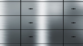 Safety deposit boxes Royalty Free Stock Photo