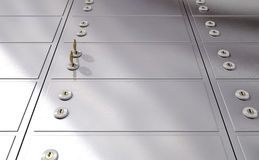 Safety Deposit Boxes Stock Images