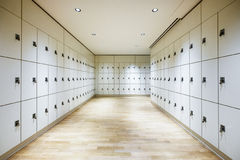 Safety deposit boxes. New safety deposit boxes - photo Stock Photography