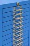 Safety Deposit Boxes. Studio photography Stock Image