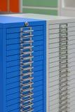 Safety Deposit Boxes. Studio photography Stock Photography