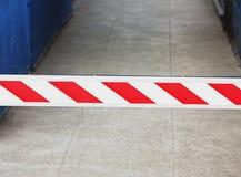 Safety divider on bridge royalty free stock photo