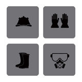 Safety equipment design Stock Image