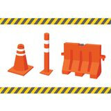 Safety equipment vector collection design vector illustration