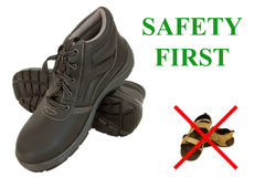 Safety first Stock Photo