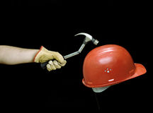 Safety first. Royalty Free Stock Image