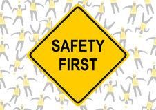 Safety first. Stock Images