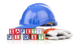 Safety first concept Royalty Free Stock Image