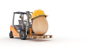 Safety first concept. 3d rendering Stock Image